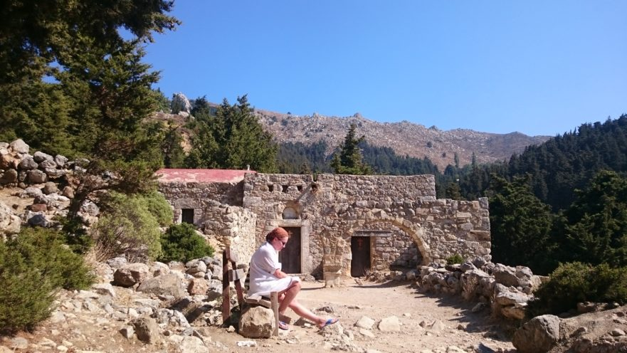 Pyli Bysantine castle Babownia