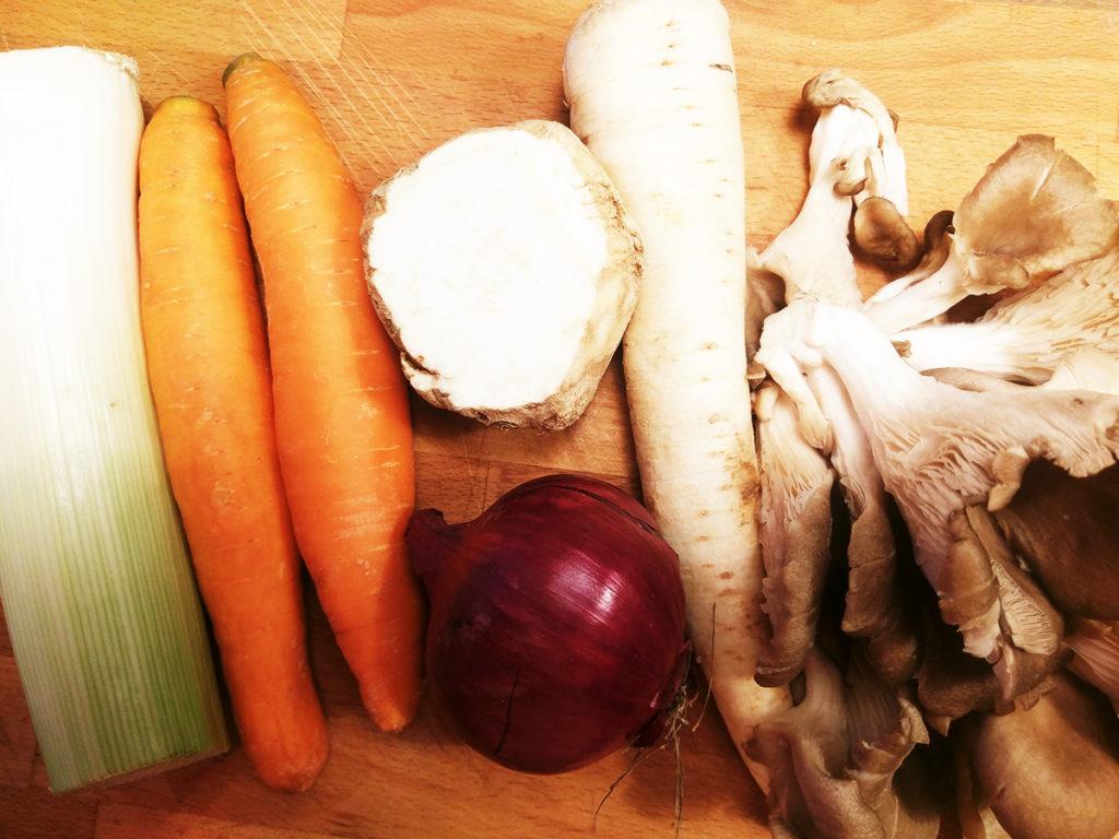 Warzywa naflaczki zboczniaków babownia wegańskie